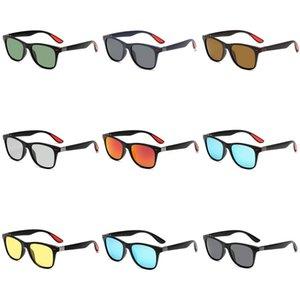 Marka Tasarımcı Erkekler Polarize Güneş Gözlüğü Klasik Aviator Güneş Gözlükleri İçin Kadınlar Sürüş UV400 Metal Çerçeve Flaş Ayna Rays Gözlük # 593 Yasakladı
