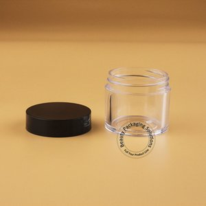 30pcs lot Plastic 30g PS Cream Jar Women Cosmetic Container 1OZ Empty Portable Cream Bottle