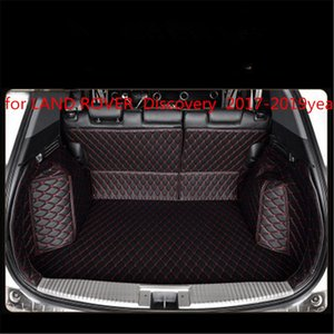 para LAND ROVER Discovery 2017-2019year Couro Car Trunk Full Surround Tapete Pallet Carpet