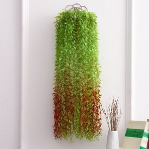 1Pcs 1M Artificial Plants Green Leaf Ivy Vine Wicker Rattan Home Wedding Decor Wholesale DIY Hanging Garland Artificial Flowers