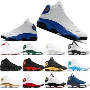 Newest 2019 13 Atmosphere Grey Mens Basketball Shoes Class of 2002 Bred Black Cat He Got Game 13s Mens Sports Athletics Sneakers 40-47