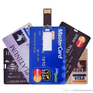 영국 도매 세계 은행 카드 USB 플래시 드라이브 8GB 16GB 메모리 스틱 USB 드라이브 64GB 32GB USB2.0 FlashDrive 512MB 펜 Drivr