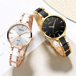 2020 Nibosi Uhr Luxus Frauen Watch Damen Kreative Frauen Keramik Armband Uhren Weibliche Uhr Montre Femme Relogio Feminino