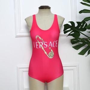 2020 Bikini sexy signora Luxury Designer costumi da bagno dello Swimwear di marca Donne Tute di un pezzo di balneazione Monokini Ragazza della spiaggia Sexi superiore 20040302D