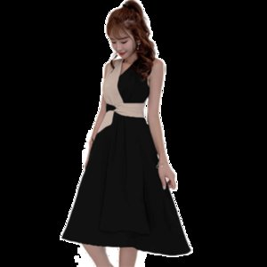 2020 new womens fashion summer skirt summer waist closing thin temperament fashion net red dress