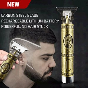 2020 new vintage engraving oil hairdresser professional hairdresser haircut beard men 0mm razor
