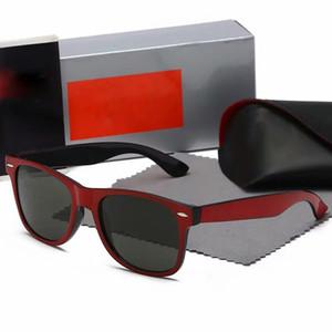2140 vendita calda Occhiali da sole Aviator Pilot Vintage marchi di vetro di Sun Banda polarizzato UV400 vieta gli occhiali da sole Wayfarer Uomini Donne Ben