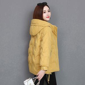 Down Cotton Jacket Women's Bread Jacket 2020 Autumn And Winter Coat Padded Women's Clothing Loose Female Parka Coat