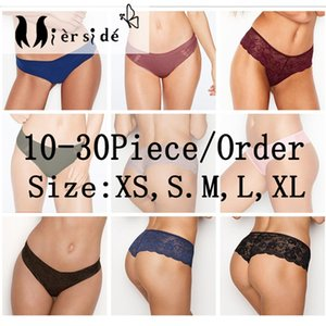 Mierside Random 10-30 Pieces  Pack Any Different Style girls underwear panties sexy T-pants and Briefs XS S M L XL Y200425