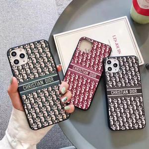 Nouvelle arrivée Classique Designer Phone Case pour iPhone 11 Pro XS Max XR X 6 7 8 Plus Design Textile