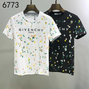 Puro Cotone maniche corte Mens T Shirt perfetta qualità delle magliette Original Design uomini e donne maglietta squisita stampa Hip Hop T-shirt