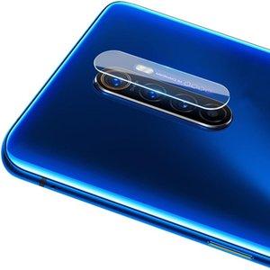 10 PCS pour OPPO Realme X2 Pro 2.5D caméra arrière transparent objectif Film de protection en verre trempé