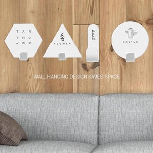 4pcs Set Adhesive Hook Nordic Minimalist Kitchen Hook Bathroom Clothes Towel Rails Holder Wall Hooks Key Holder Home Decoration