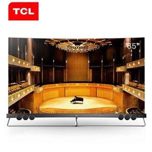Originale TCL 65X5 nuovo quantum dot Tv ultra-sottile schermo intero senza bordi pieno HDR ecologica intelligente Ultra HD 4K trasporto libero curva TV