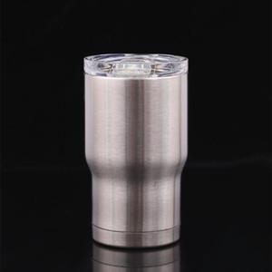 14 oz acciaio inox bambini bicchiere di caffè a doppia parete vuoto isolato tazze birra latte tazze bicchieri sotto vuoto MiNi bicchieri di vino