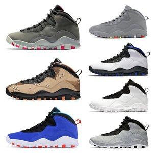 New 10 10s Herren Basketball Schuhe Desert Camo Tinker Cement Westbrook Ich bin zurück Chicago Dark Smoke Grey Herren Sport Sneakers Größe 7-13