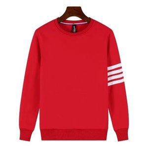 Men And Women Fund Pullover Round Neck Sweater Pure Cotton Long Sleeve Unlined Upper Garment Seal Word Sweater
