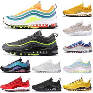 2019 Nike Air Max 97 Vapormax kadınlar için bir NIK Gün koşu ayakkabı Vardır üçlü beyaz siyah OG metalik altın STAR UNDEFEATED gece yarısı donanma tasarımcı sneakers