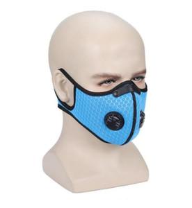 Maschere di riciclaggio della bicicletta del motociclo Barakra mascherina in sella Caps Mask Outdoor Sport Sci antivento testa polvere imposta tattico K95 Mask