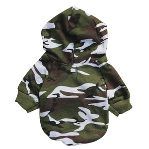Cotton Pet Dog Coat Camouflage Cat Winter Dog Puppy Winter Padded Clothes Jacket Puppy Small Dog Hoodies Army Military Costume