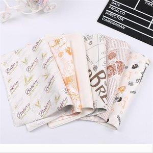 Occidentale libretto di Hamburger pollo Rolls della carta da forno pacchetto di carta roll torta Grease prova di carta casa squisita 5 7pc k1