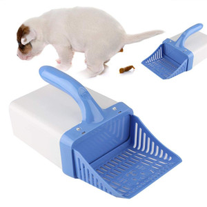 Cat Litter Scoop, Pet Cat Litter Shovel Cleaning Tools Cat Litter Sifter Dung Sifter Scooper System with Waste Bag for Sifting Kitty Cats