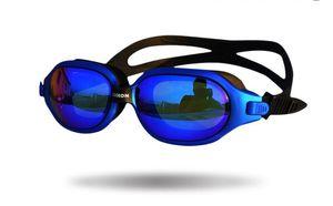 New large box goggles waterproof and anti-fog HD plating swimming glasses