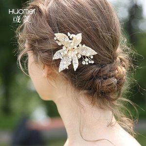 C163 NPASON невесты головные уборы ручной ткать жалкие шпильки гребень для волос серии дизайн свадебные волосы украсить новый