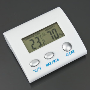 Digital LCD Temperature Humidity Hygrometer Thermometer TL8025 Thermo weather station termometro reloj thermal imager
