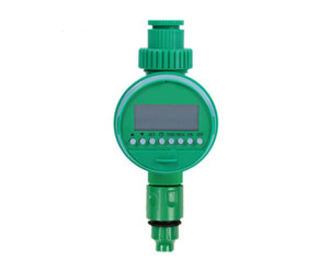 Electronic Water Timer LCD Display Automatic Garden Irrigation Controller Solenoid Valve Digital Intelligence Watering