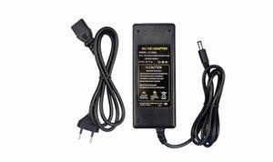 DC adaptador de corriente 12v 1a 2a 3a 5a CA 100V -240V Para Dc 12v 5 .5mm X 2 0,1 -2 .5mm convertidor cargador conductor para LED Light