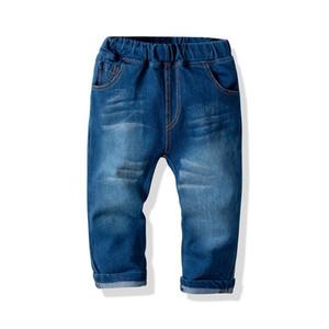 Kids Boys Jeans 2019 봄 여름 가을 고품질 캐주얼 바지 Children Baby Girls Trousers
