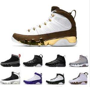 2019 Mop Melo Bred 9 9 s LA Oreo basketbol ayakkabıları IX Erkekler uzay reçel Tur Sarı Siyah Kırmızı Ruh spor Sneakers