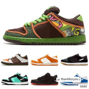 Dunk SB Low TRD QS Black Pigeon The Dove Of Peace A F 1 With Shoes Box Top Quality Limited Release On Sale 36-45