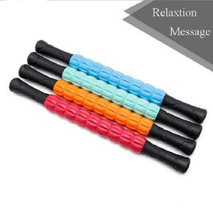 Neue Yoga Massage Roller Stock-Bein Rücken Relaxion Foam Roller Muskel-Therapie Entlasten Physio Yoga-Block Fitnessgeräte