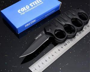 Couteau de poche Dust-Defense froide en acier à l'acier