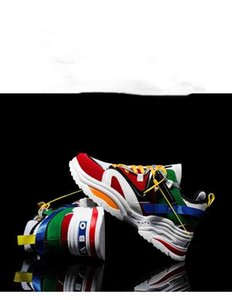 2019 Sport-beiläufige Schuh-Lace-up 6cm FRAUEN Man EAF ABO Turnschuhe Breath