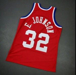 femmes Hommes personnalisés jeunes Vintage Johnsons Mitchell Ness 1990 All Star College Basketball Jersey Taille S-4XL ou sur mesure tout maillot de nom ou le numéro