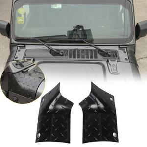 Capa ângulo de envolvimento Covers Decoração Tampa Pointer Para Exterior Jeep Wrangler JL 2018+ Car Acessórios ABS Car Styling
