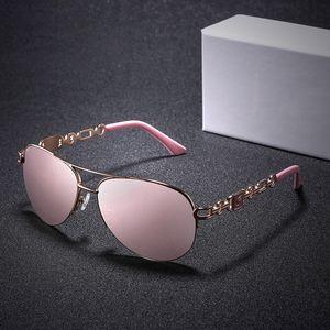 Luxary-Vazrobe 2019 Polarisierte Sonnenbrille Damen HD Pink Verspiegelte Sonnenbrille für Damen Driving Shades Anti Reflect UV400 Polaroid