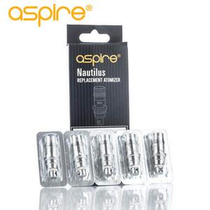 Authentic Aspire bobina Nautilus Atacado Para Aspire Nautilus / Mini tanque de substituição BVC Nautilus bobina DHL livre