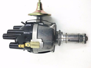 in stock SherryBerg 25d4 Complete 25D Electronic 25D4 Distributor for Classic Mini 998cc with Electronic Ignition replace Lucas 25D 4 cyl