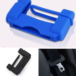 Ceinture de sécurité automobile boucle Couvre Rembourrage Anti Scratch Pad Silicone Boucle Protector Ceintures de sécurité Accessoires automobiles