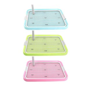 Pet Dog Cat Potty Toilet Puppy Cat Litter Bathroom Safe and Durable, Smooth Non-Toxic Tasteless Training Tray Pets Cleaning Tool