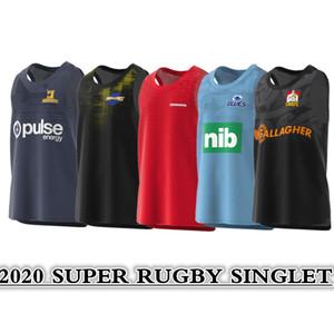 2020 CRUSADERS Super Rugby casa Fuori formazione delle prestazioni SINGLET RUGBY MAGLIA Taglia: S - 5XL La qualità è perfetta. Consegna gratuita