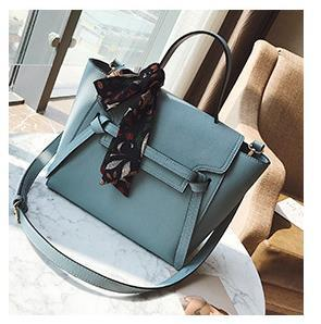 New Female Bag Designer Wild Handbag Fashion Luxury Handbag Commuter Scarf One Shoulder Messenger Bag 2020