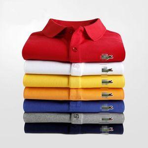 2020 Frühlings-Sommer-beiläufige Hemd-Männer der Qualitäts Mens Dress Shirts Solide Slim Fit Kurzarm-Hemd