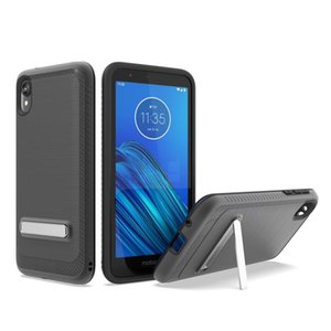 Híbrido caso duro Kickstand dupla Layerty para Casos Stylo6 K51 A01 A11 A21 A51 A71 5G G Stylus MOTO E7 Aristo5 K31 suporte para Note20 iphone12