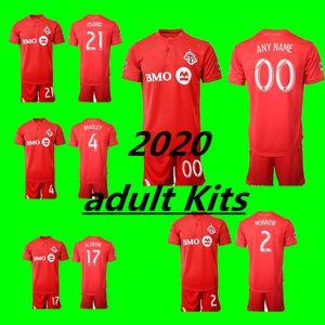 2019 2020 Toronto FC Soccer Michael Bradley Jersey Set Sebastian Giovinco Jozy Altidore Make 19 20 Football Shirt adult Kits Uniform