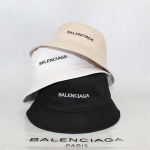 Unisex BA Carta del sombrero del cubo del algodón de pesca gorras Casquillo del visera del verano mujeres de los hombres de Sunhat Carta Desinger pescador Sombreros de Hip Hop Caps Topee regalo